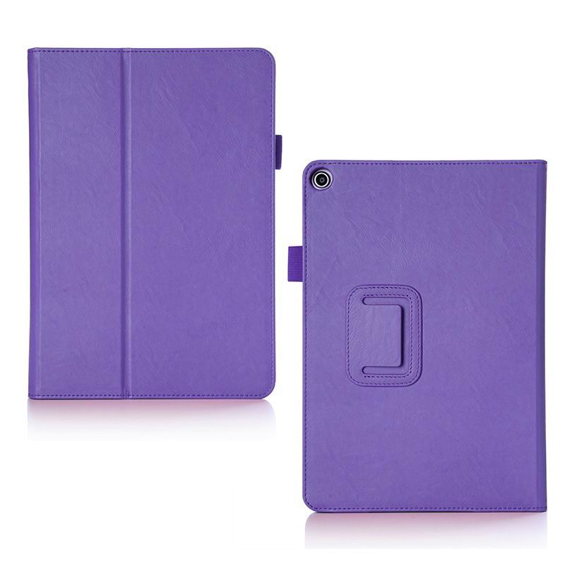 zenpad 3s 10 z500m business case with multicolor pattern wrist loop card holders and two stand Purple: