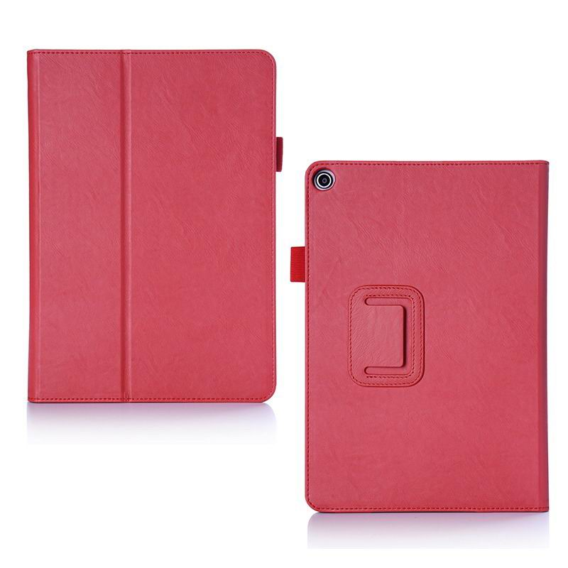 zenpad 3s 10 z500m business case with multicolor pattern wrist loop card holders and two stand Red: