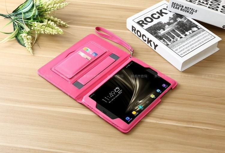 zenpad 3s 10 z500m business case with wrist loop stand card holders and enveloping cover 3