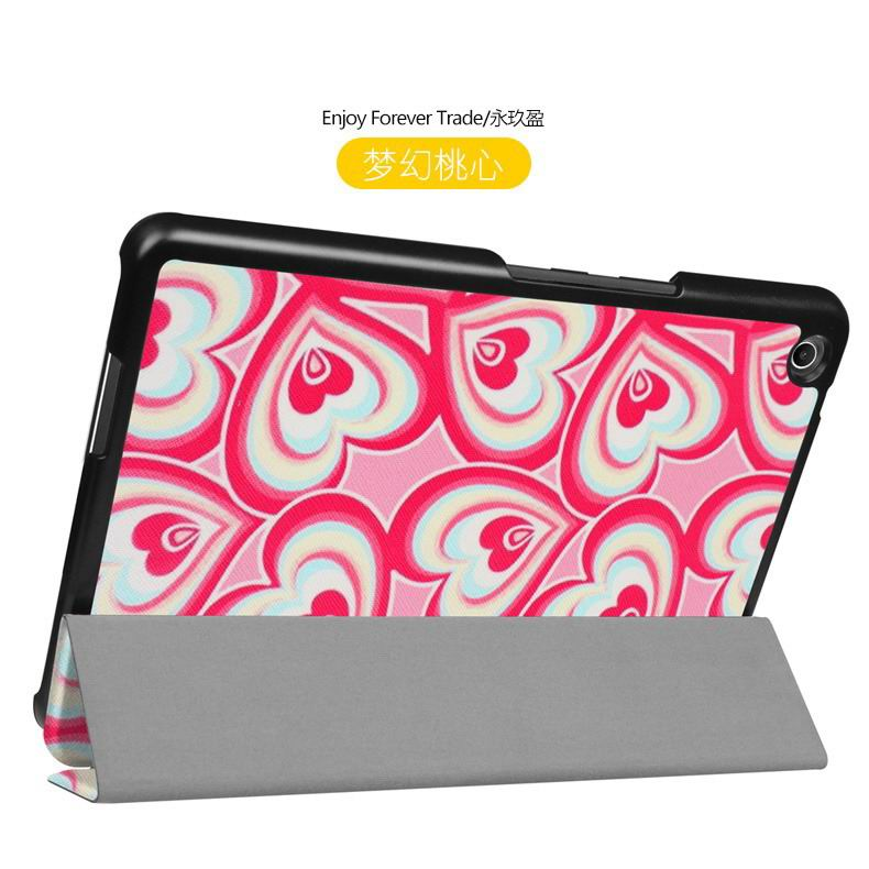 zenpad 3 80 z581kl case with different style patterns and 3 stand Dream sweetheart: