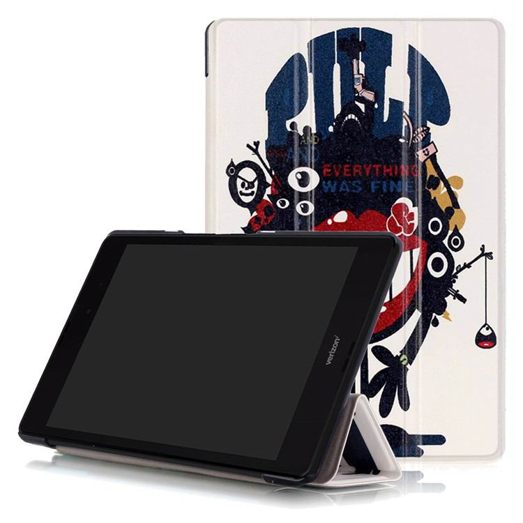 zenpad 3 80 z581kl case with multi style pattern and 3 stand Big mouth blame: