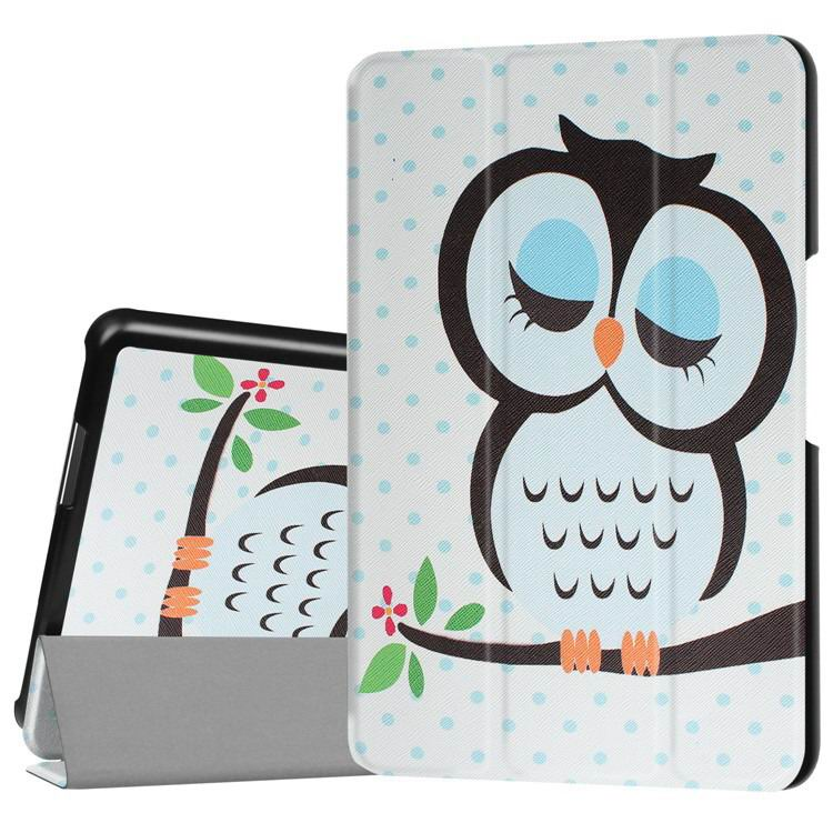 zenpad 3 80 z581kl case with multi style pattern and 3 stand Owl: