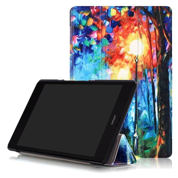 zenpad 3 80 z581kl case with multi style pattern and 3 stand The Romantic Road: