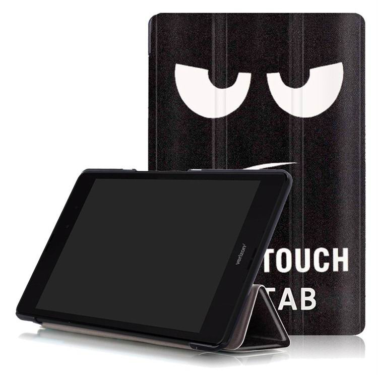 zenpad 3 80 z581kl case with multi style pattern and 3 stand Big eyes: