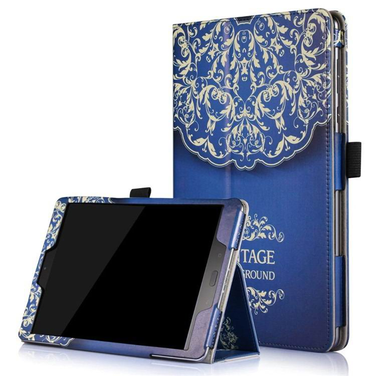 zenpad 3s 10 z500m case with variety pictures 2 stand and enveloping cover 2 European style flower vine: