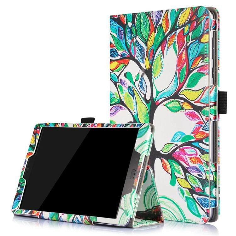 zenpad 3s 10 z500m case with variety pictures 2 stand and enveloping cover 2 Happy tree: