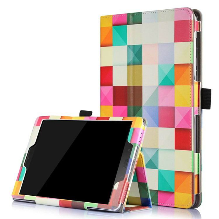 zenpad 3s 10 z500m case with variety pictures 2 stand and enveloping cover 2 Magic cube: