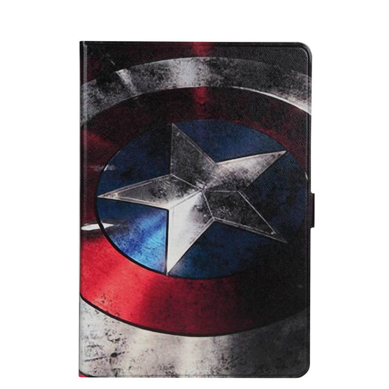 zenpad 3s 10 z500m case with variety pictures 2 stand and transparent cover Captain America: