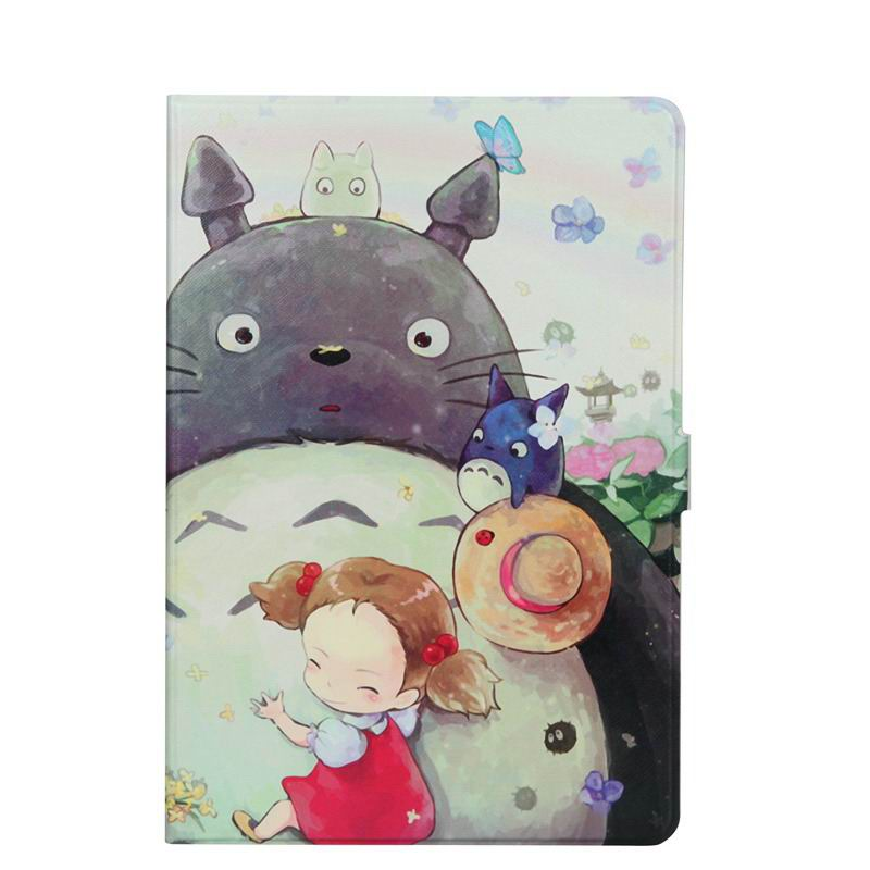 zenpad 3s 10 z500m case with variety pictures 2 stand and transparent cover Totoro girl: