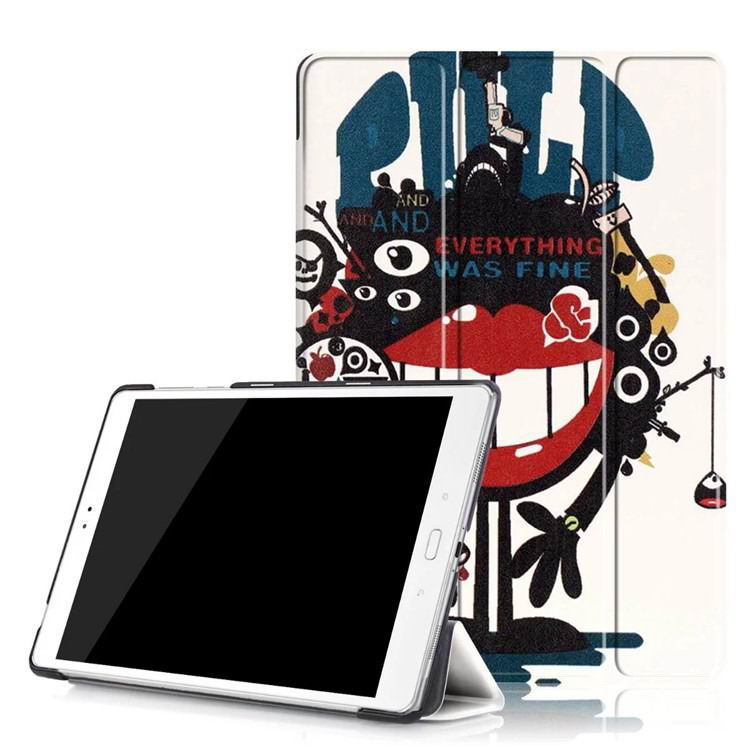 zenpad 3s 10 z500m case with variety pictures 3 stand and transparent cover Big mouth to blame: