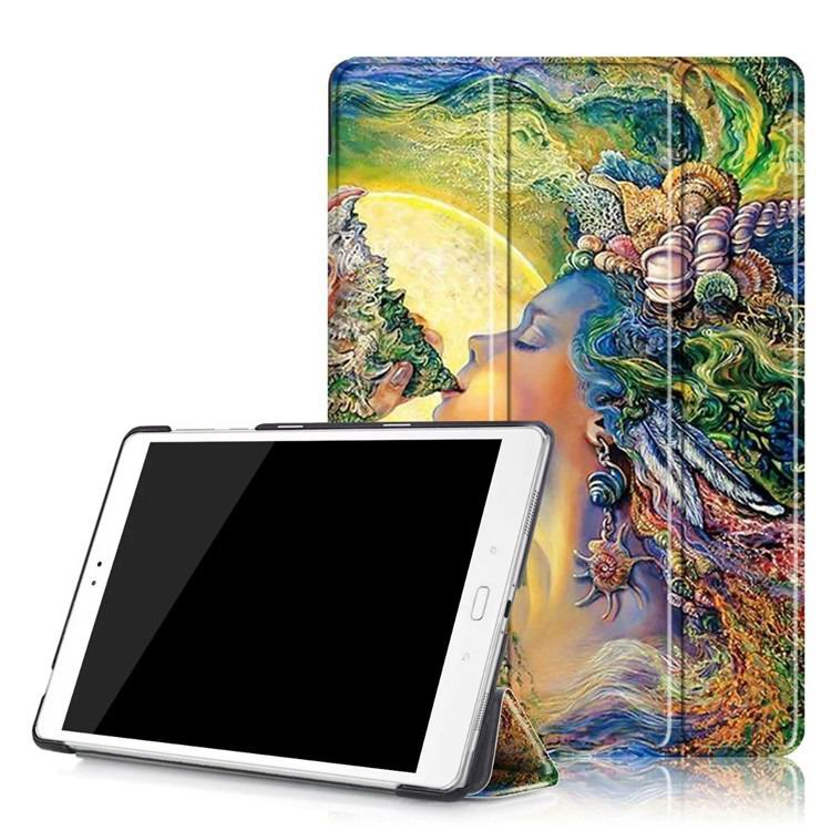 zenpad 3s 10 z500m case with variety pictures 3 stand and transparent cover The sea of women: