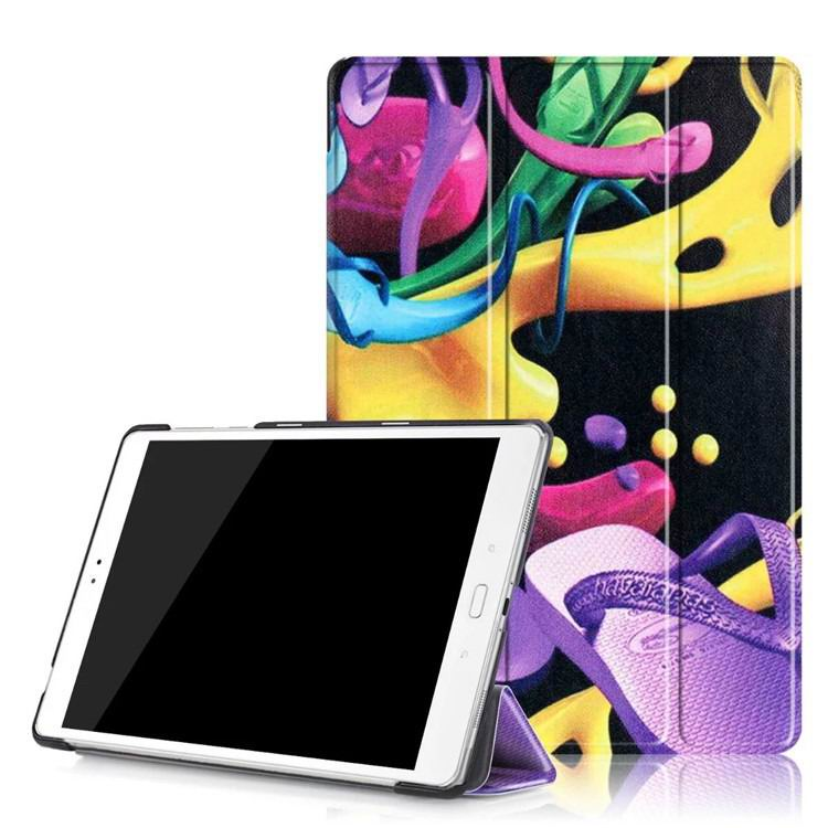 zenpad 3s 10 z500m case with variety pictures 3 stand and transparent cover Colorful shoes: