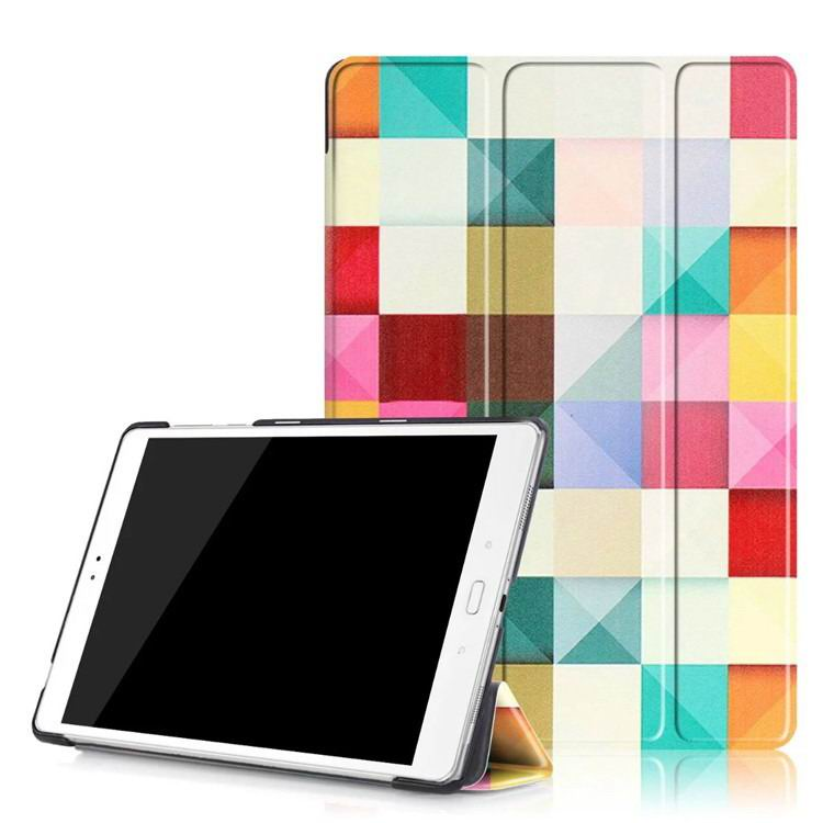 zenpad 3s 10 z500m case with variety pictures 3 stand and transparent cover Magic cube: