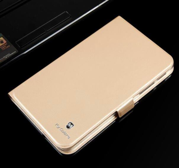 galaxy tab a 7 0 2016 business case with 2 stand and transparent silicone cover Tyrant gold: