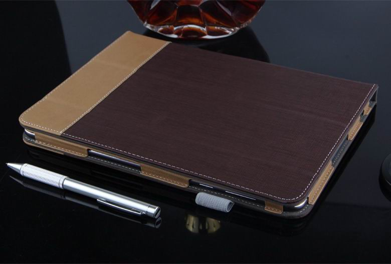 zenpad 3s 10 z500m business case with cloth style 3 stand and pen holder Brown: