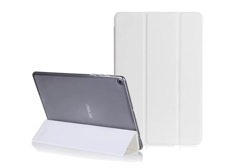 zenpad 3s 10 z500m business case with monochrome pattern 3 stand and transparent cover White: