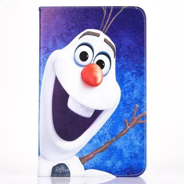 galaxy tab a 10 1 2016 case with 2 stand and frozen patterns Snow treasure: