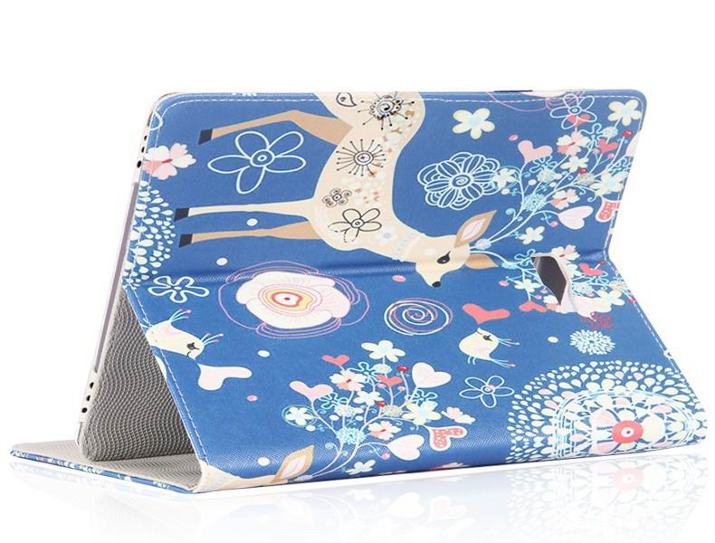galaxy tab a 10 1 2016 case with cute girls pattern 2 stand and dots inside