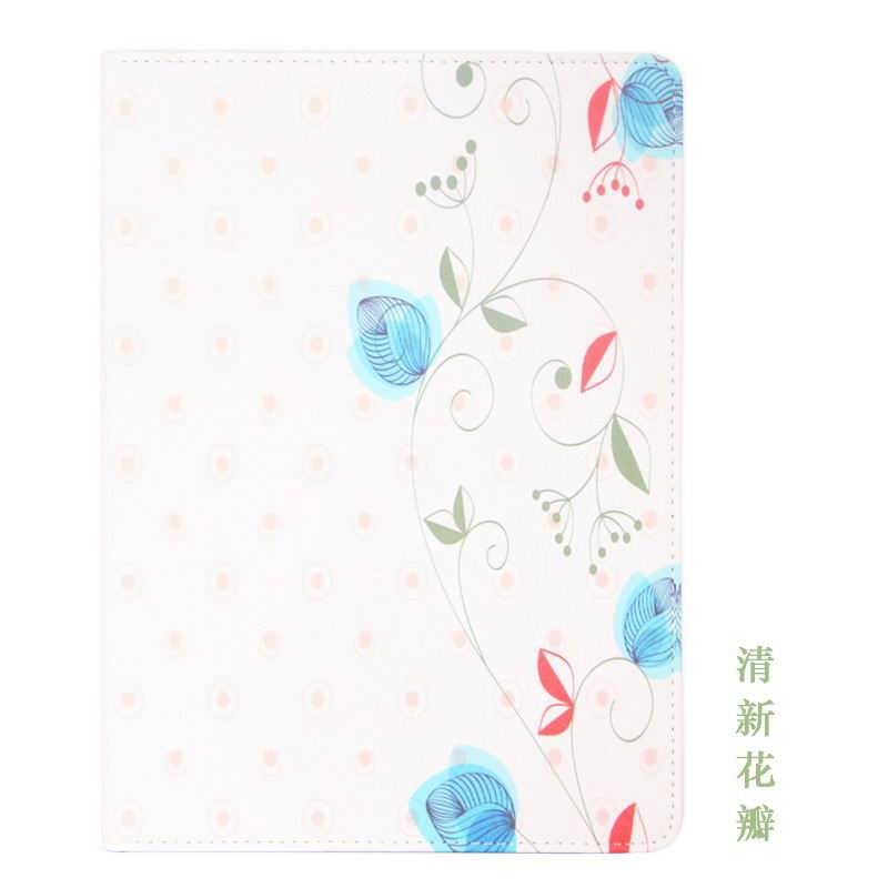 galaxy tab a 10 1 2016 case with cute girls pattern 2 stand and dots inside Clear petal: