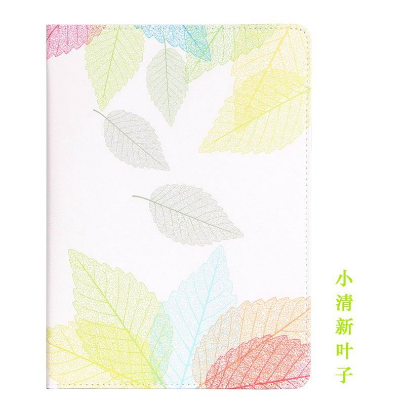 galaxy tab a 10 1 2016 case with cute girls pattern 2 stand and dots inside Fresh leaf: