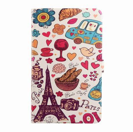 galaxy tab a 7 0 2016 case with wide different patterns 2 stand and transparent cover Paris: