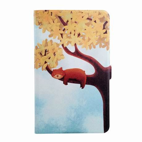 galaxy tab a 7 0 2016 case with wide different patterns 2 stand and transparent cover The tree bears:
