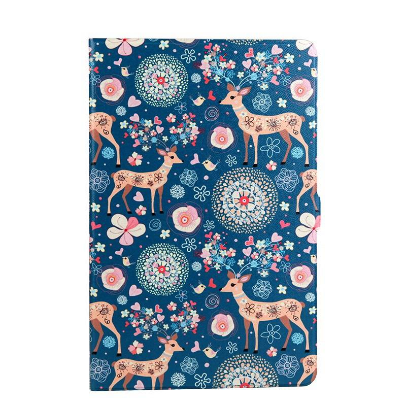 galaxy tab a 10 1 s pen 2016 case with wide styles skin with 2 stand Deer: