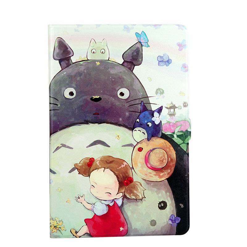 galaxy tab a 10 1 s pen 2016 case with wide styles skin with 2 stand Totoro girl: