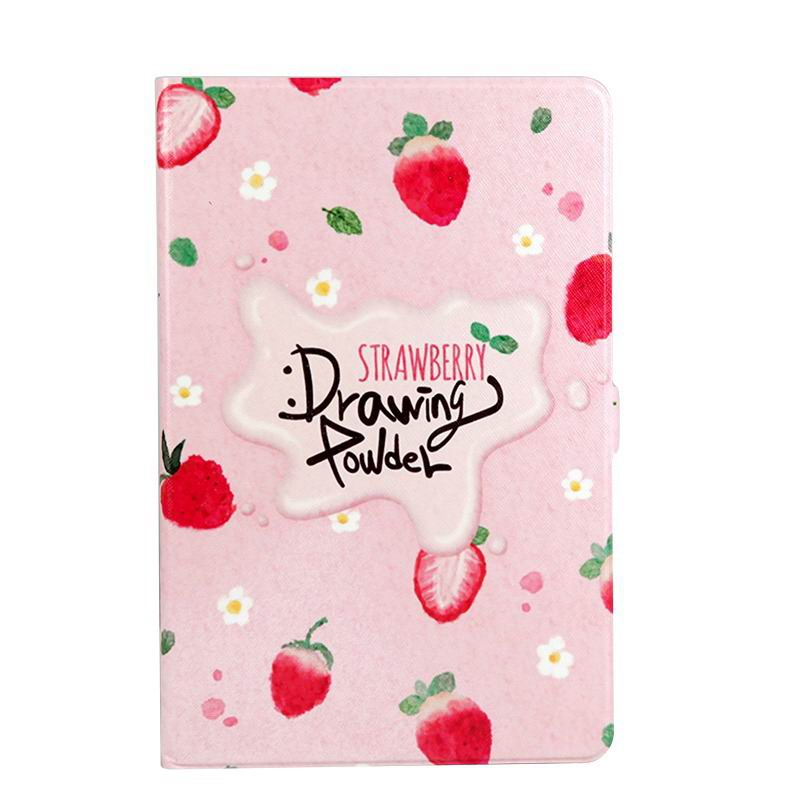 galaxy tab a 10 1 s pen 2016 case with wide styles skin with 2 stand English strawberries: