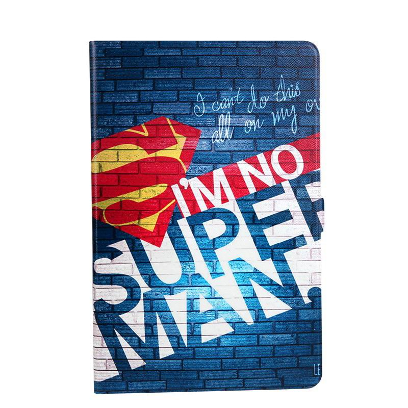 galaxy tab a 10 1 s pen 2016 case with wide styles skin with 2 stand I'm not Superman:
