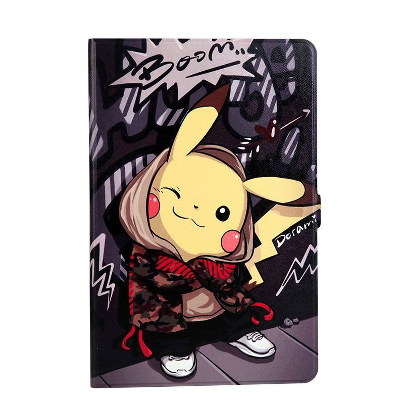 galaxy tab a 10 1 s pen 2016 case with wide styles skin with 2 stand Pikachu: