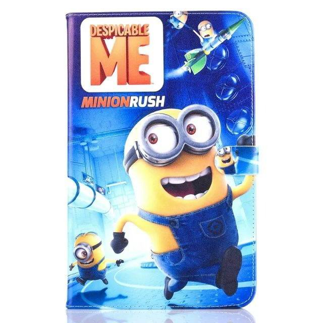 galaxy tab a 10 1 2016 children case with the minions heroes No. 1 pattern: