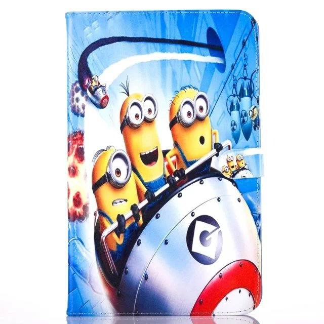 galaxy tab a 10 1 2016 children case with the minions heroes No. 2 pattern:
