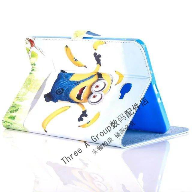 galaxy tab a 10 1 2016 children case with the minions heroes