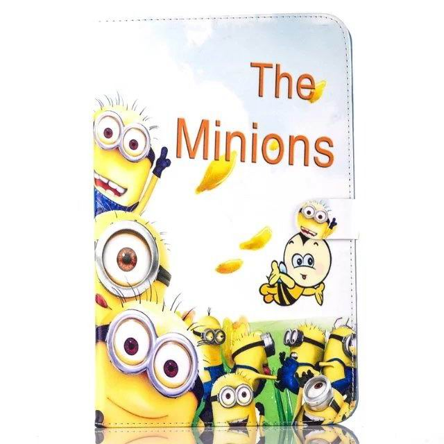 galaxy tab a 10 1 2016 children case with the minions heroes No. 5 pattern: