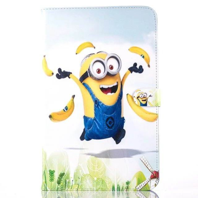 galaxy tab a 10 1 2016 children case with the minions heroes No. 6 pattern: