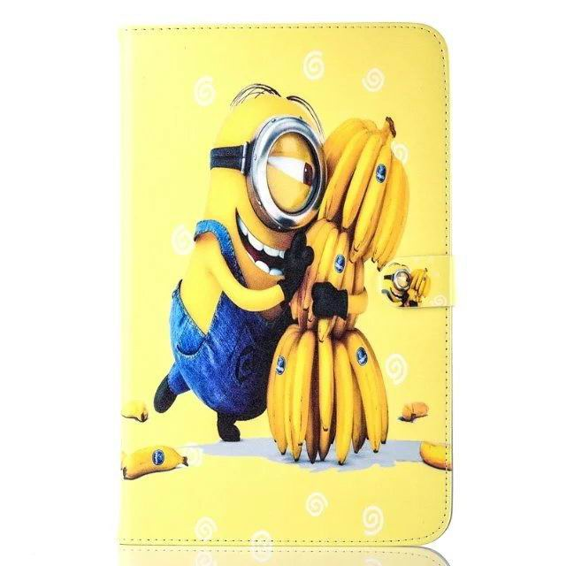 galaxy tab a 10 1 2016 children case with the minions heroes No. 7 pattern: