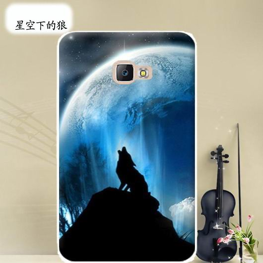 galaxy tab a 10 1 2016 cover with wide variations anime pattern Under the stars wolf: