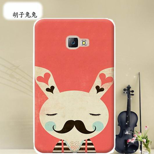 galaxy tab a 10 1 2016 cover with wide variations anime pattern Mustache rabbit: