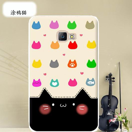 galaxy tab a 10 1 2016 cover with wide variations anime pattern Doodle Cat: