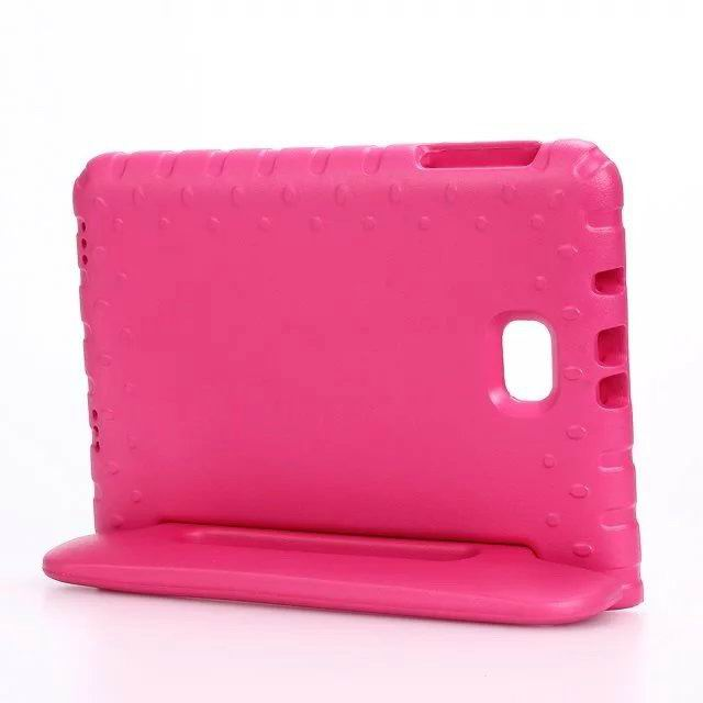 galaxy tab a 10 1 2016 plastic multicolor cover red: