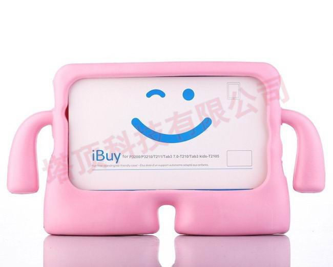 galaxy tab a 7 0 2016 plastic protective cover Pink: