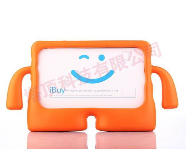galaxy tab a 7 0 2016 plastic protective cover Orange: