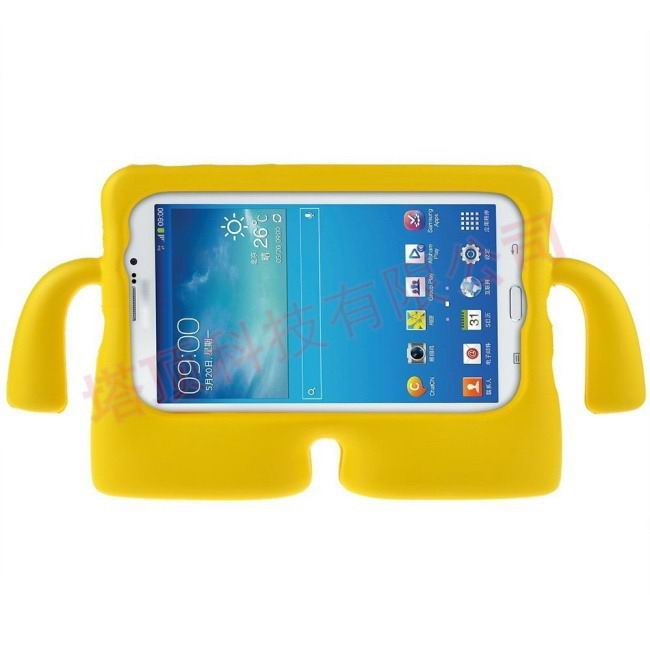 galaxy tab a 7 0 2016 plastic protective cover Yellow: