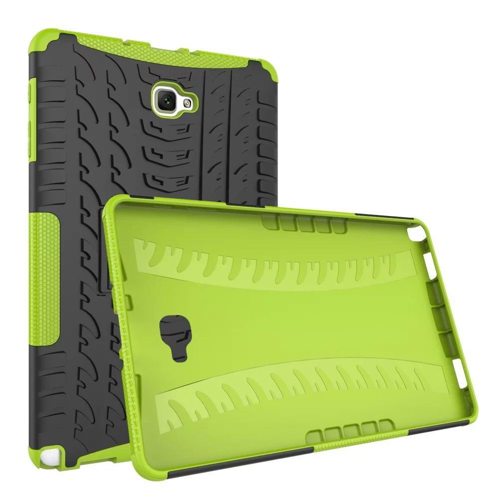 galaxy tab a 10 1 s pen 2016 protective cover with multicolor pattern SM-P580/P585 green protective cover: