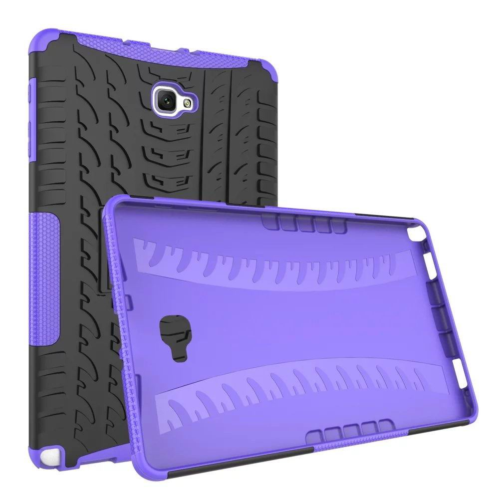 galaxy tab a 10 1 s pen 2016 protective cover with multicolor pattern SM-P580/P585 purple protective cover:
