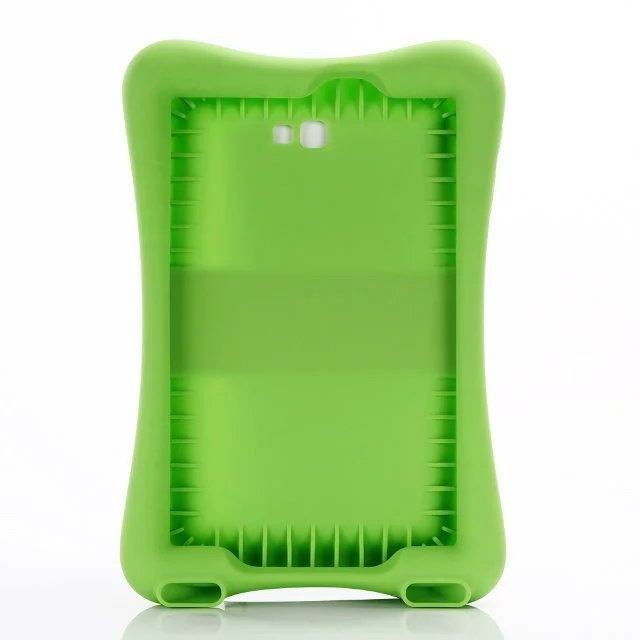 galaxy tab a 10 1 2016 protective silicone cover 2 green: