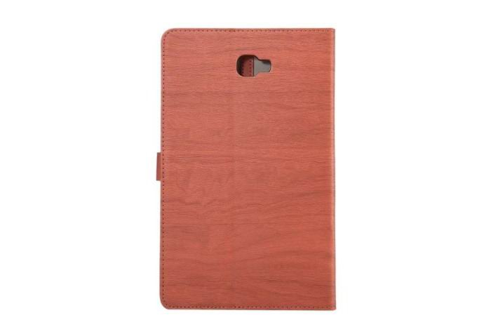 galaxy tab a 10 1 2016 stylish case with wooden pattern and stand