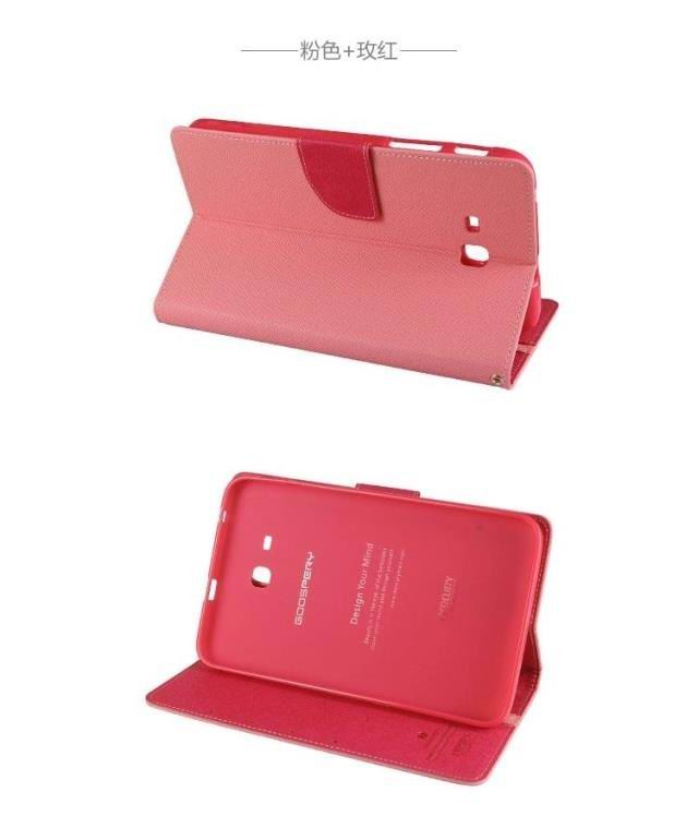 galaxy tab a 7 0 2016 bicolour case with 2 stand plastic housing and card sections