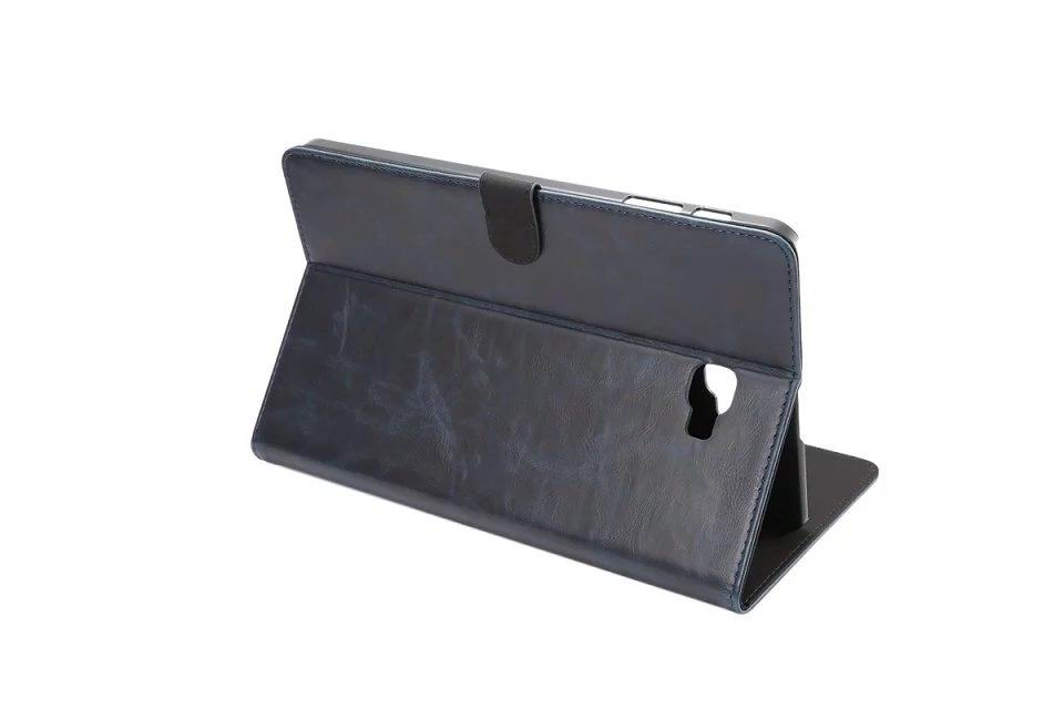 business case of leatherette with 2 stand plastic body and card sections 00
